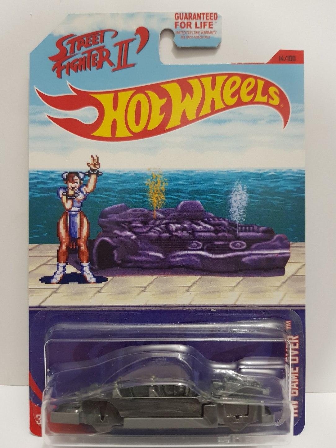 Street fighter 2 bonus car hotwheels - meme