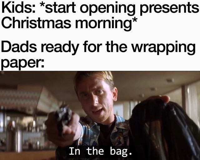Wrapping paper - meme