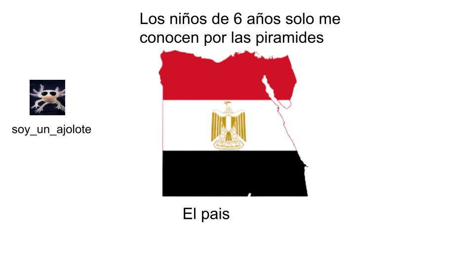 egipto - meme