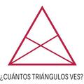 Si adivinan cuantos triángulos hay ahí les doy follow :v, dejen la respuesta en los comentarios