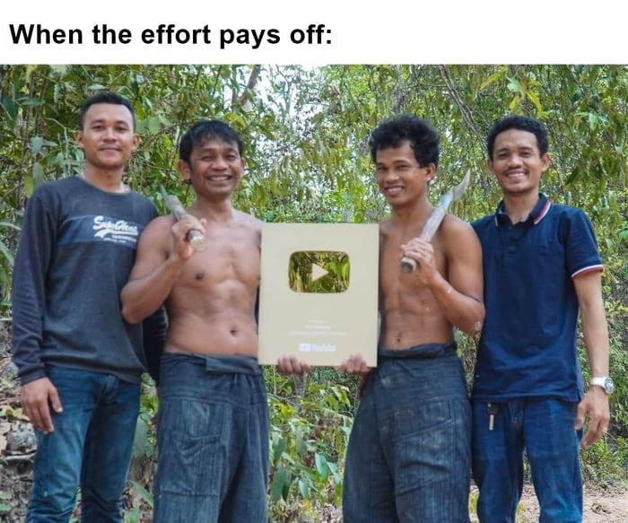 Very happy for them - meme