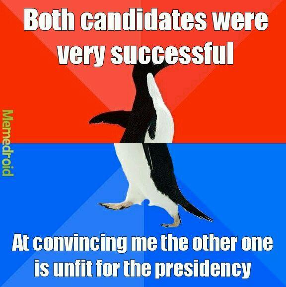 Third party anyone? - meme