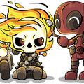 Motoqueiro Fantasma e Deadpool