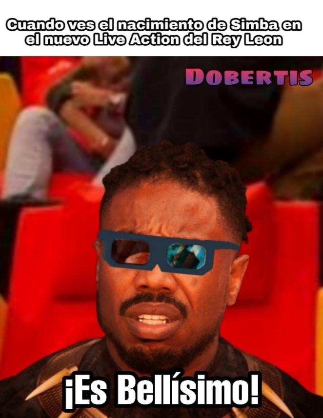 Usen el zoom para ver las gafas - meme