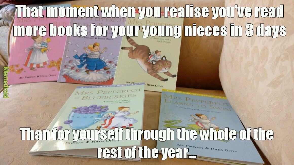 Book recommendations? - meme