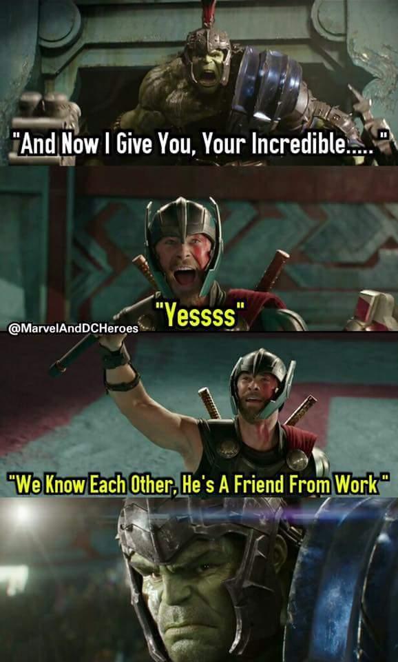 Classic Thor - meme