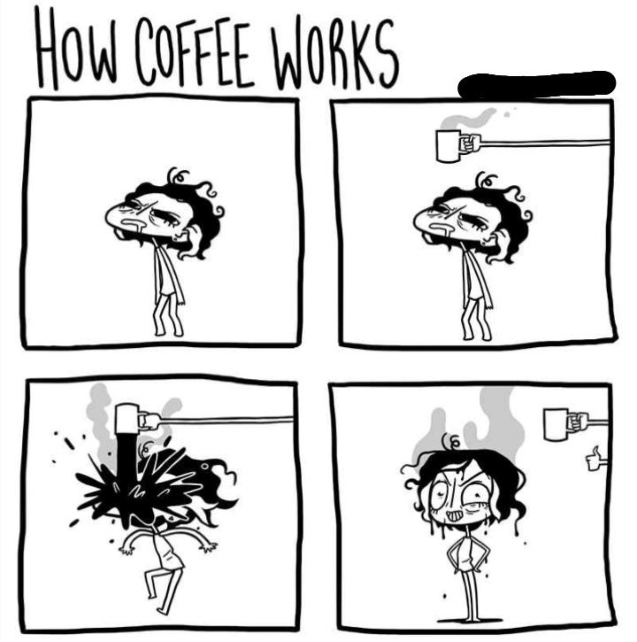 I need coffee - meme