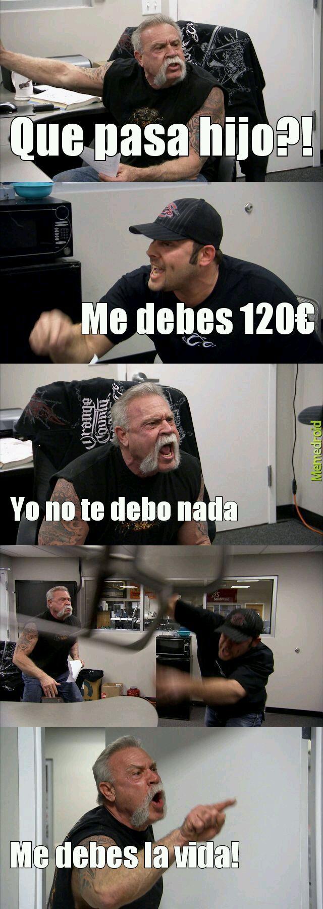 Discusiones - meme