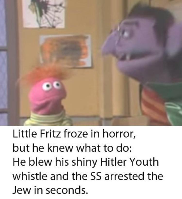 Hitler youth whistle - meme