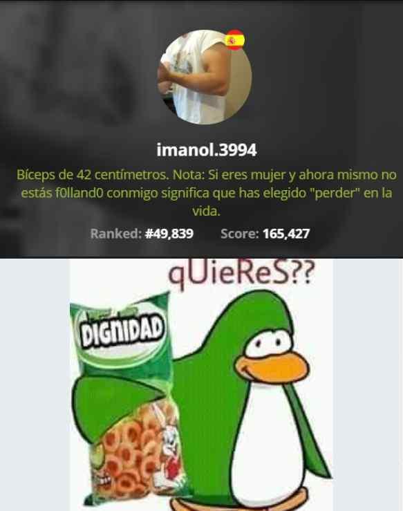 imanol in a nutshell - meme
