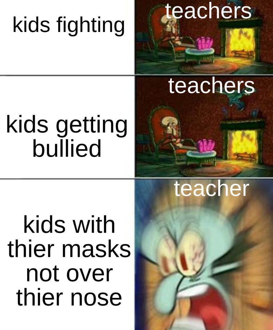 teacherdum - meme