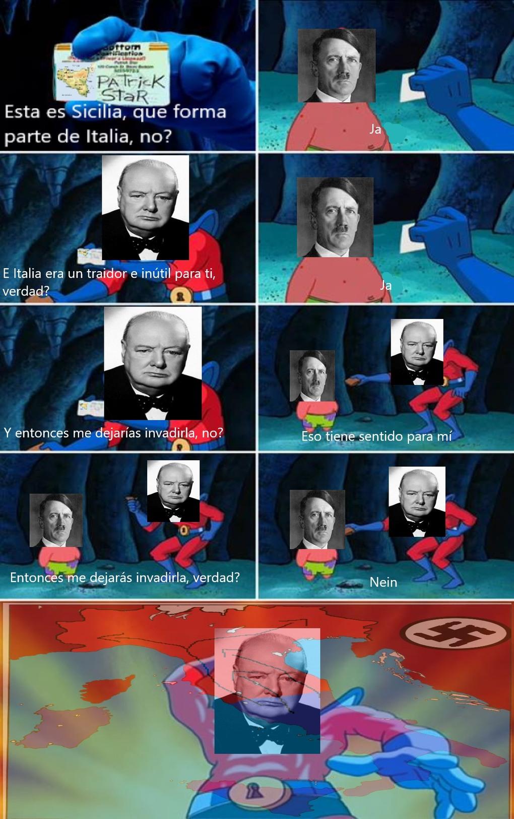 Historiadroid (ja es si en aleman) - meme