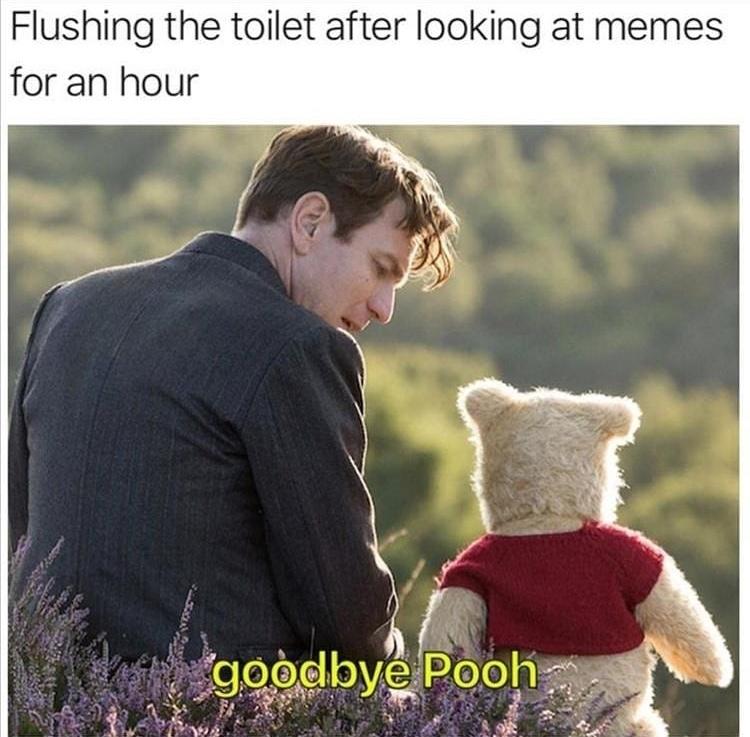 goodbye Pooh - meme