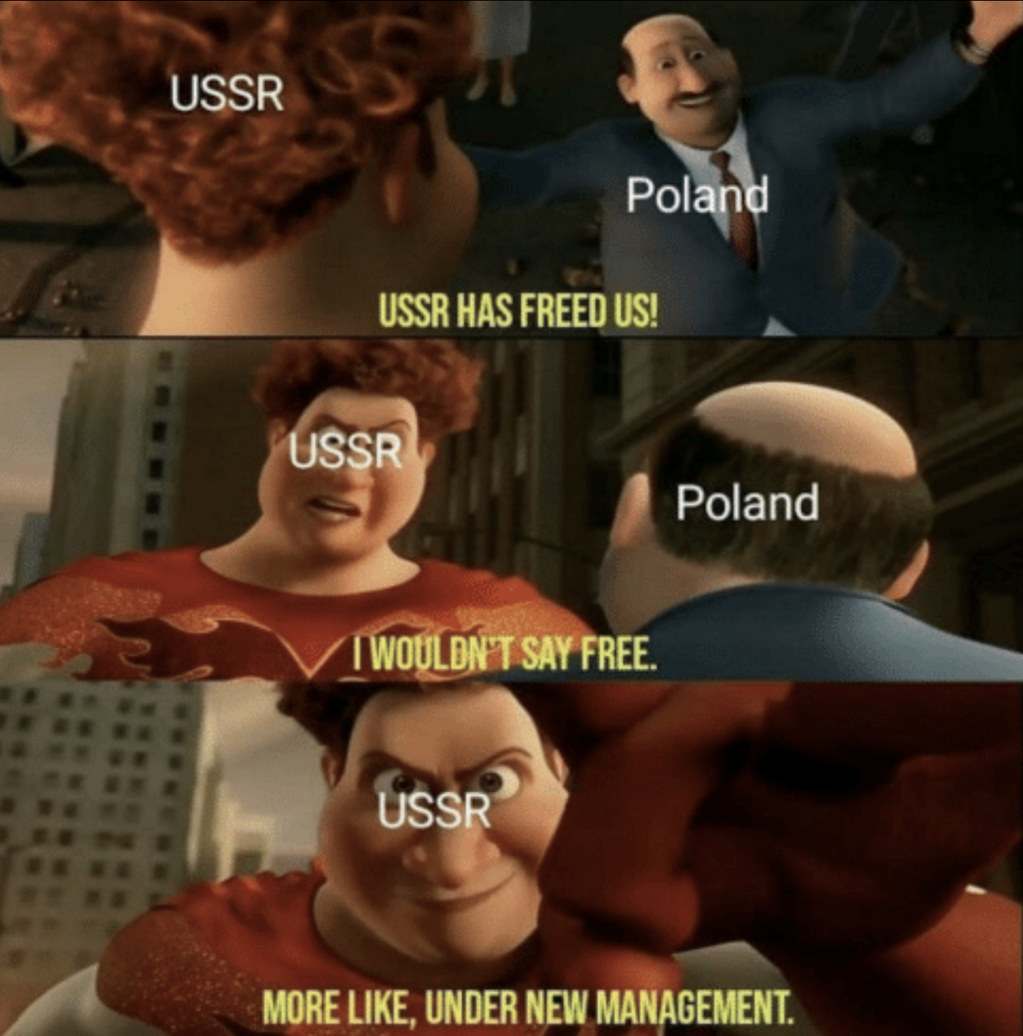 Poland can't catch a break ): - meme
