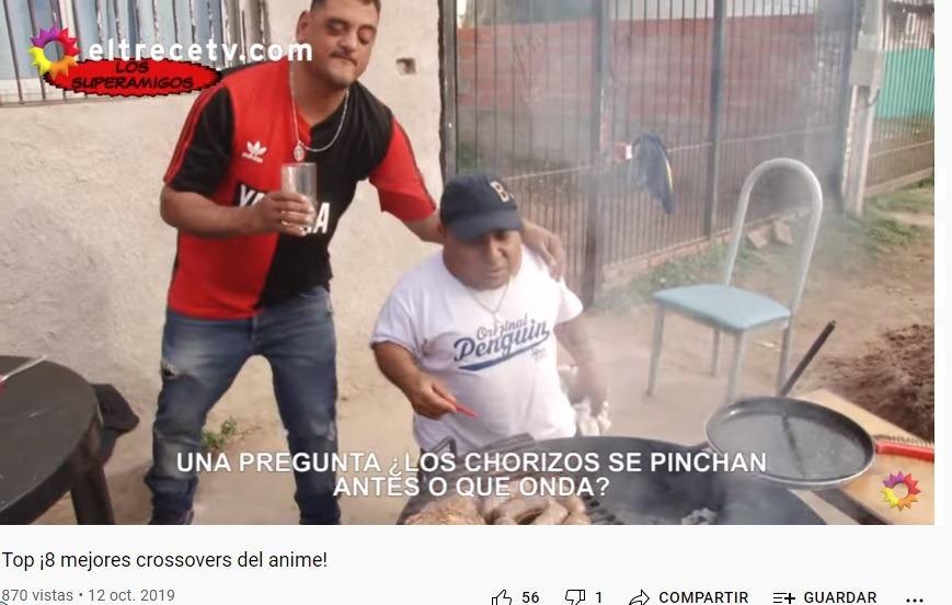 Es el enano bostero de los asados y Quico el de : https://www.youtube.com/watch?v=q8oq9AyI_2g - meme