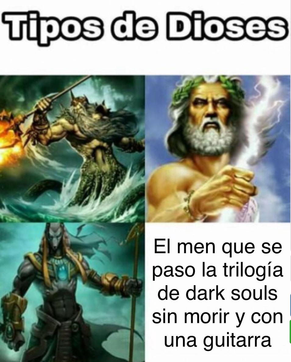 Un dios - meme