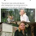 Carole Baskin BCR Tiger Attack