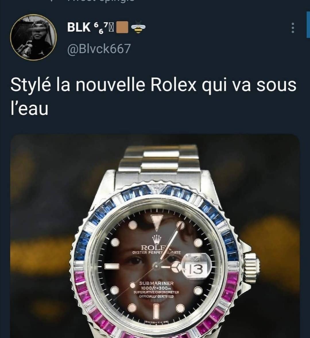 Rolex - meme