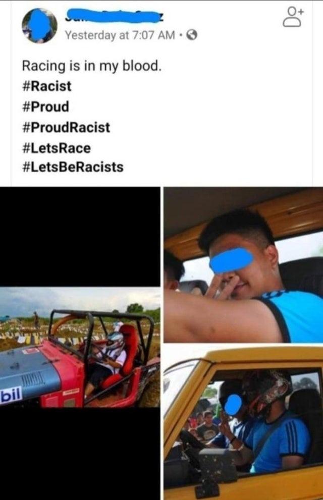 Racer - meme