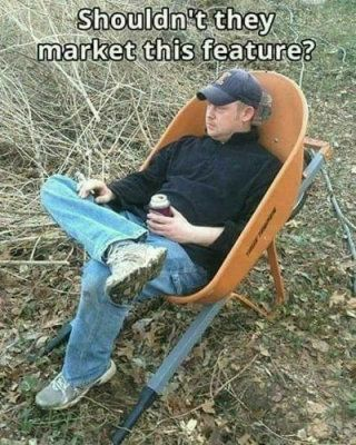 durable lawn furniture - meme