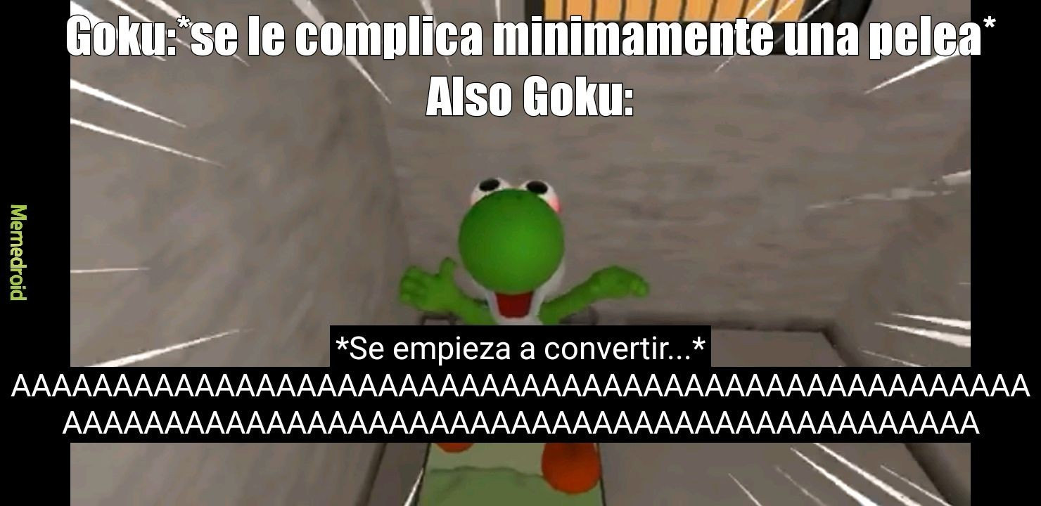 Goku yoshi - meme