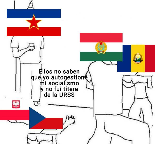 Tito, el único comunista basado - meme