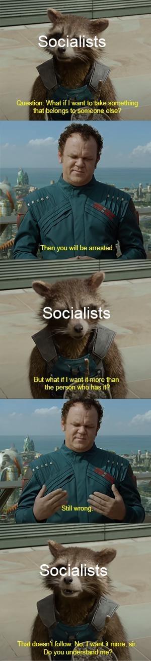 Socialists be like - meme