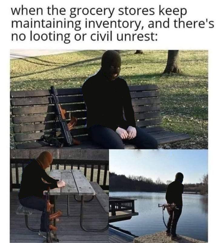 Civilization is crumbling... - meme