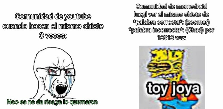 """Y si pusieran el """"toy joya"""" como un memeticon?"""