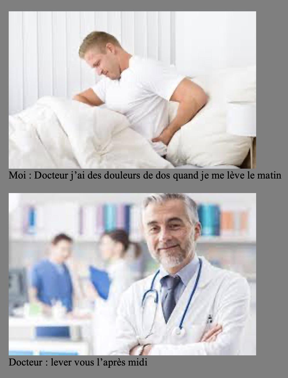 un médecin démoniaque non? - meme
