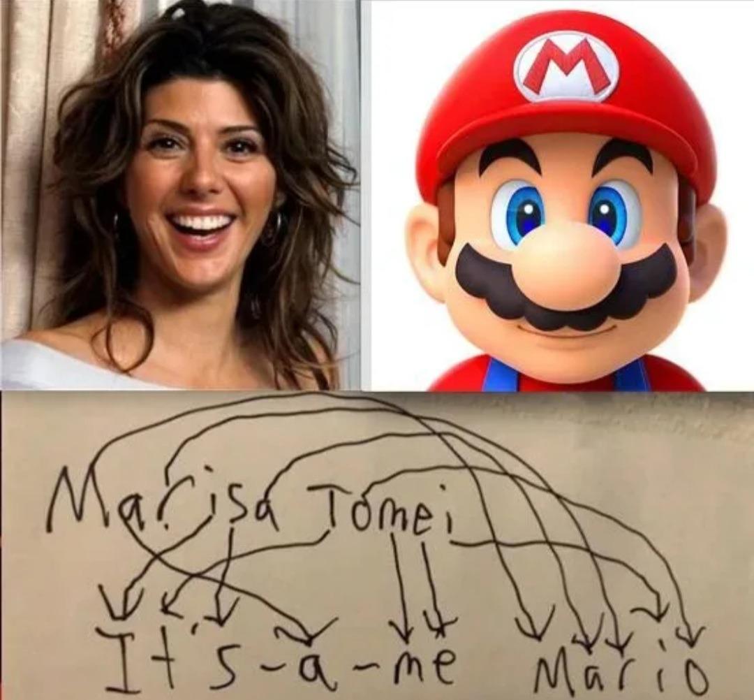 From MILF to Mario - meme