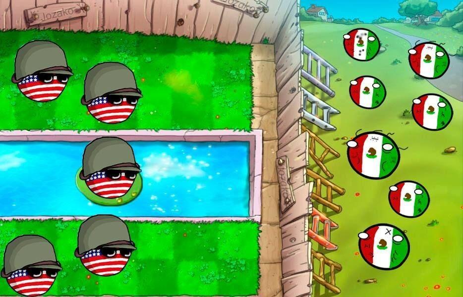 la frontera mexicano-estadounidense be like: - meme