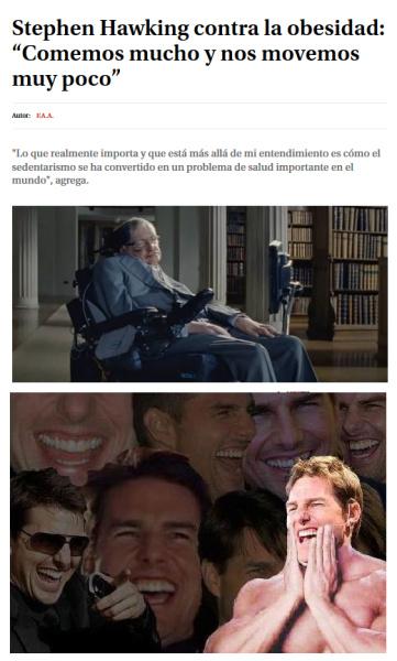 Si Hawking lo dice... - meme