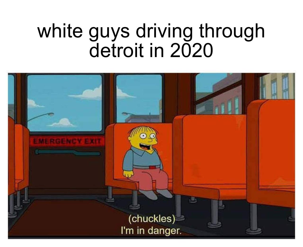 Only in Detroit - meme
