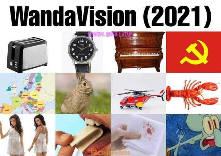 Di que ya viste Wanda visión, sin mencionar que ya la viste. - meme