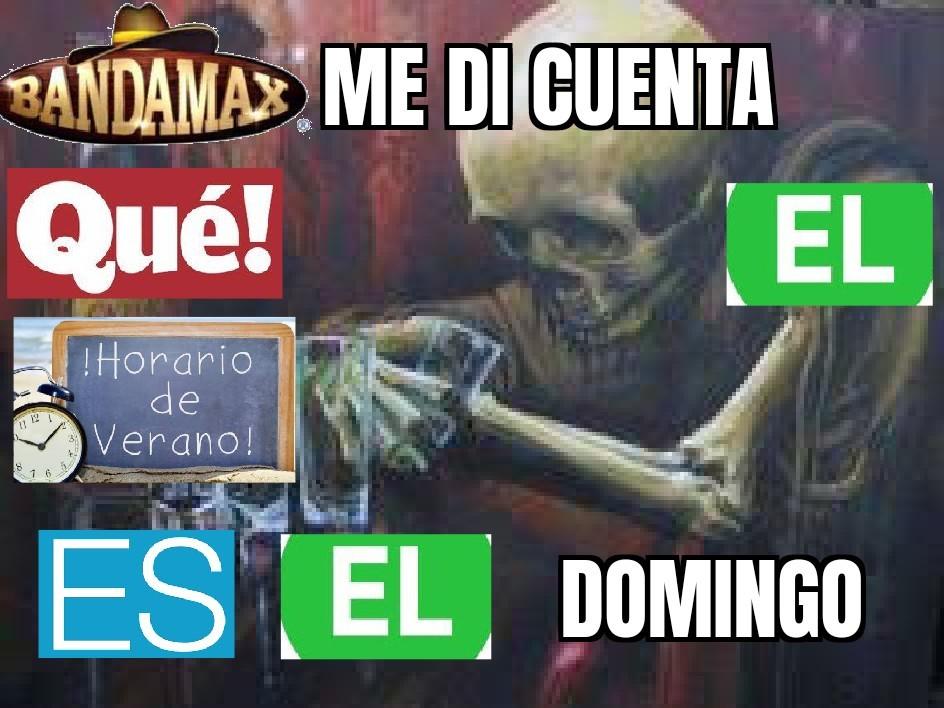 Pinche Horario de Verano - meme