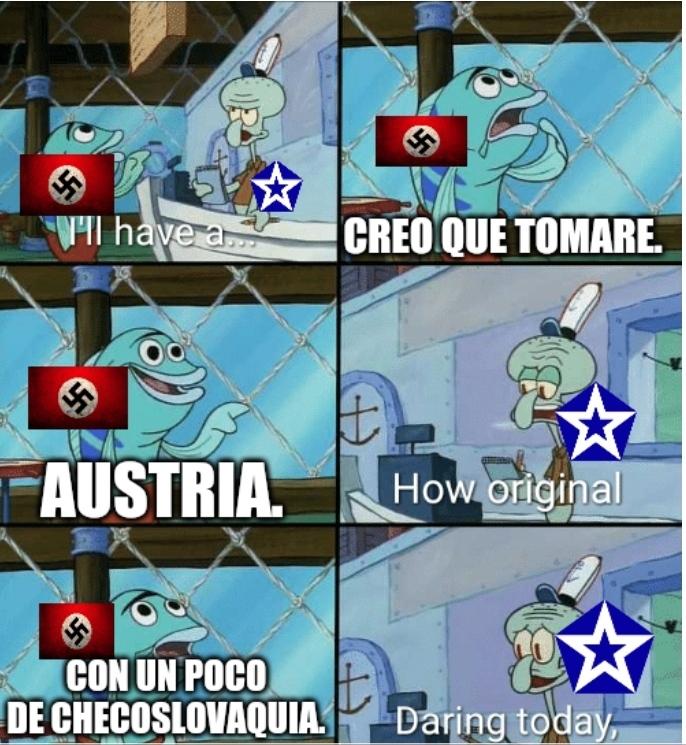 La organización de Naciones es inútil - meme