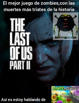 The last of us 2= zzzzz - meme