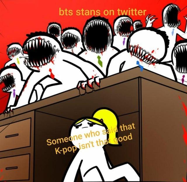 K-Pop is not that good - meme