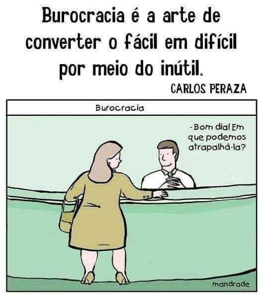 Burocracia - meme