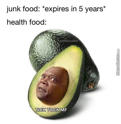 Health food - meme