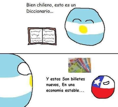 Lol grande argentina, grande chile :3 - meme