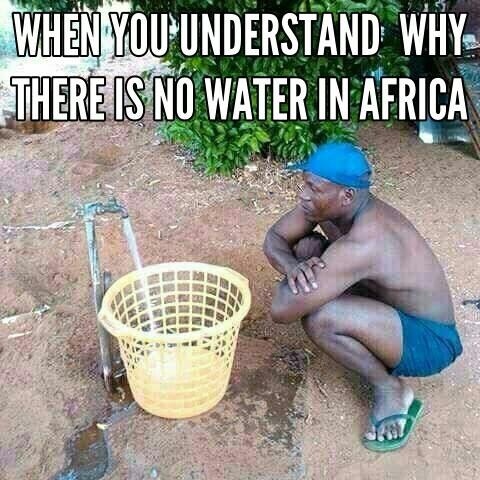 Thirst in Africa - meme
