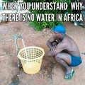 Thirst in Africa