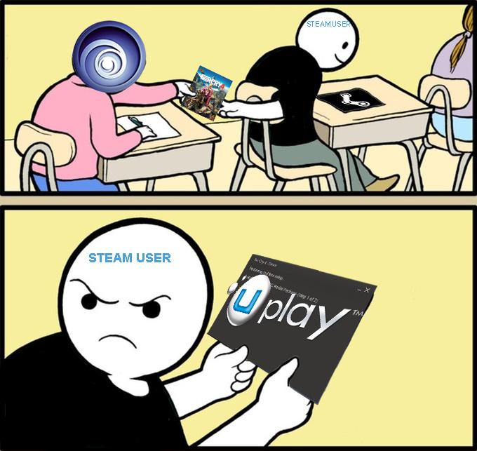 bUbisoft é foda - meme