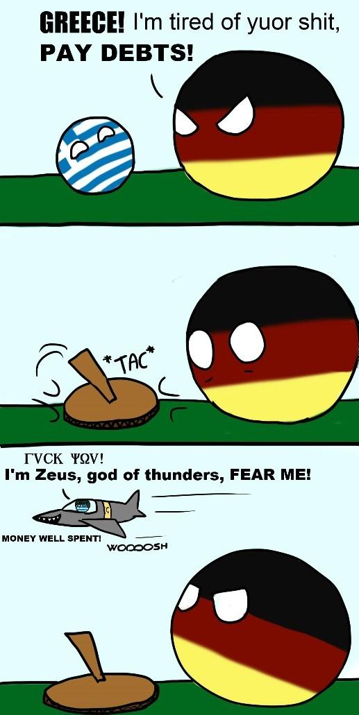 Zeus thunder planes - meme