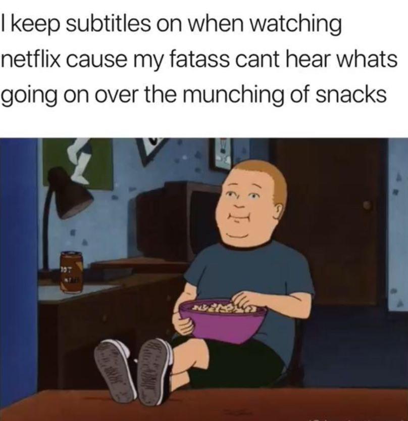 My fatass can't get up - meme