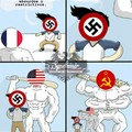 ¿Quien fue más fundamental para la victoria? ¿USA o La URSS?