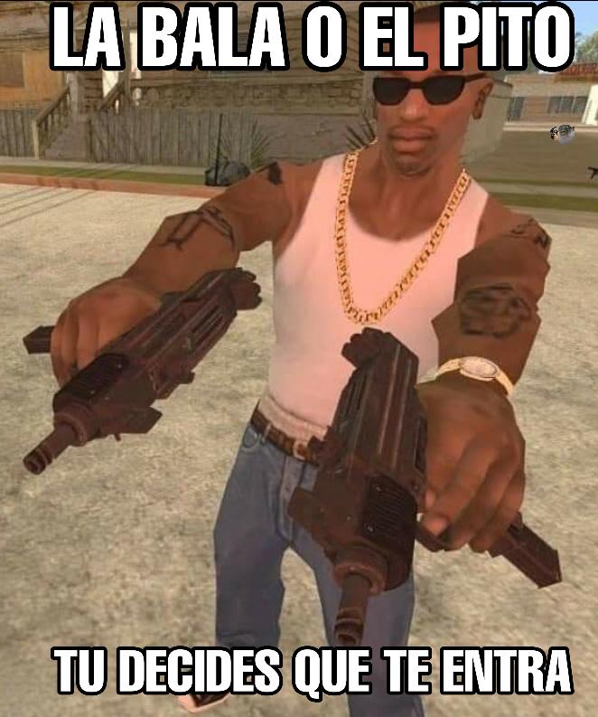 CJ por favor - meme