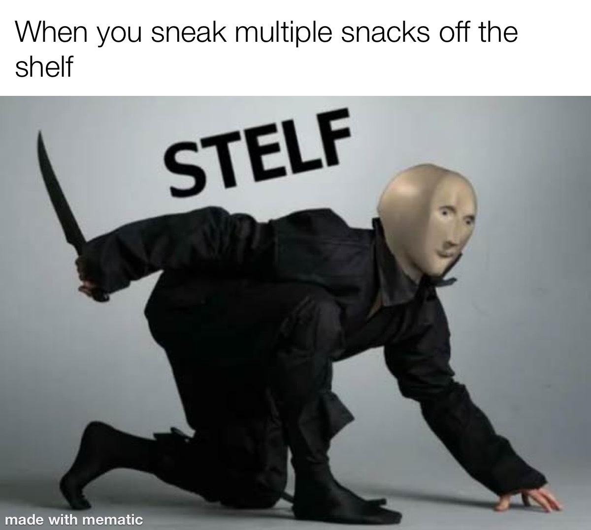 Stelf Man - meme